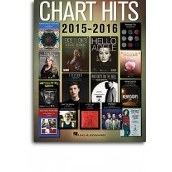 CHART HITS 2015-2016 EASY PIANO
