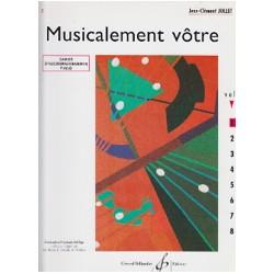 Jollet: Musicalement Votre Volume 2 Accompagnements Professeur