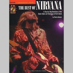Nirvana The Best Of Nirvana: Guitar Signature Licks - Partitions et CD