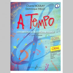 Boulay: A Tempo - Partie Orale - Volume 3 - Partitions