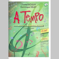 Boulay: A Tempo - Partie Ecrite - Volume 3 - Partitions