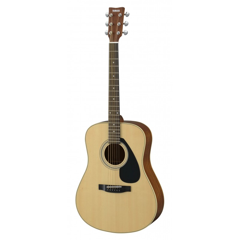 guitare folk acoustique yamaha f370 black bk noir