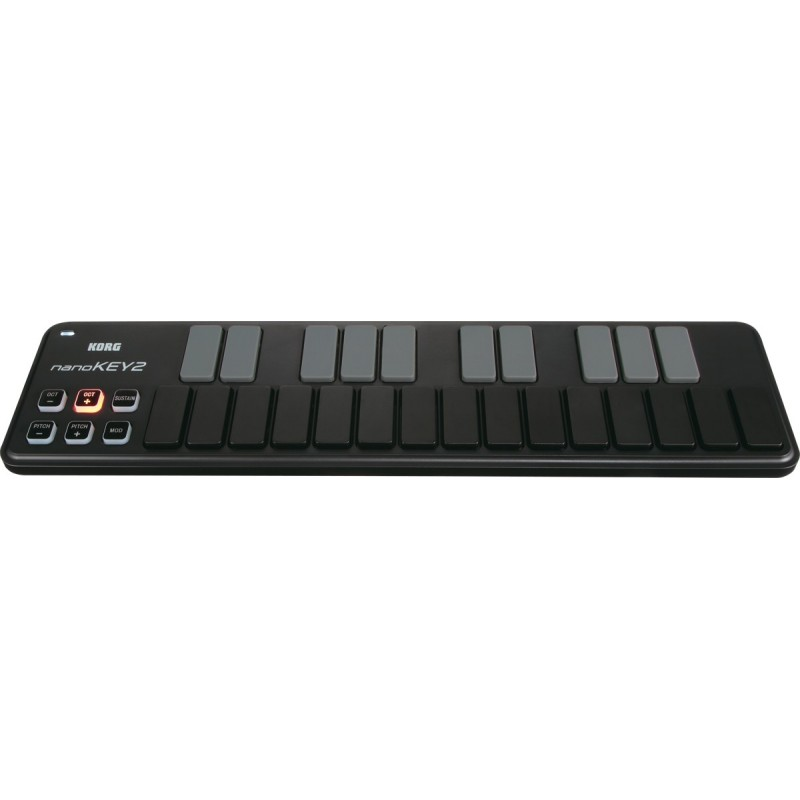 clavier usb korg nanokey2 bk vente en ligne pas cher. Black Bedroom Furniture Sets. Home Design Ideas
