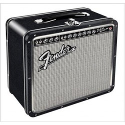 Boite Fender Black Tolex Metal Lunch Box