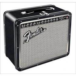 Boite Fender Black Tolex Metal Lunch Box