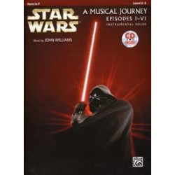 STAR WARS MUSICAL pour cor JOURNEY EPISODES I - VI HORN IN F CD