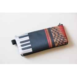 TROUSSE DE CRAYON MOTIF PIANO