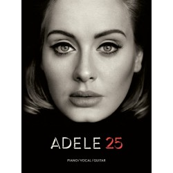 ADELE 25 Piano, Chant et Guitare (PVG)