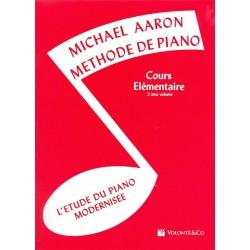 Michael Aaron: Méthode De Piano Volume 2 (Edition Française) - Partitions