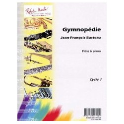 Gymnopédie Jean-François Basteau Partition Flûte et Piano