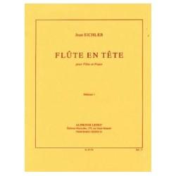 Jean Sichler Flûte en tête Partition Flûte et Piano
