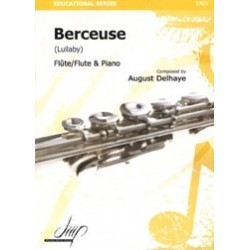 August Delhaye Berceuse Partition Flute et Piano