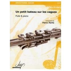 Hans Aerts Un petit bateau sur les vagues Partition Flûte et Piano