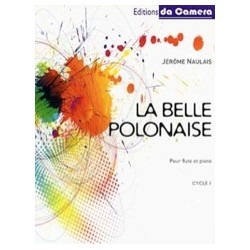 Naulais Jérôme La belle polonaise Partition Flûte et PIano