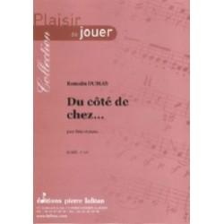Romain Dumas Du côté de chez... Partition Flute traversière et Piano