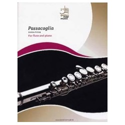 Peter NOTEN Passacaglia Partition Flute traversière et Piano