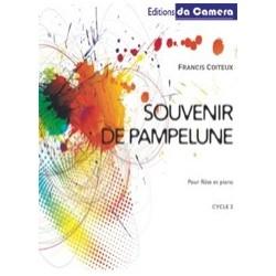 Francis Coiteux Souvenir de Pampelune Partition Flute traversière et Piano