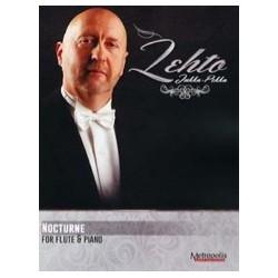Jukka Pekka LEHTO Nocturne Partition Flûte et Piano