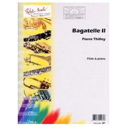 Pierre Thilloy Bagatelle 2 Partition Flûte et Piano