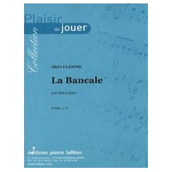 Alain Flamme La Bancale Partition Flute traversière et Piano