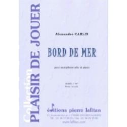 Alexandre Carlin Bord de mer Bord de mer Partition Saxophone alto et piano