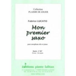 Fabrice Lucato Mon Premier Saxo Partition - Saxophone alto et piano