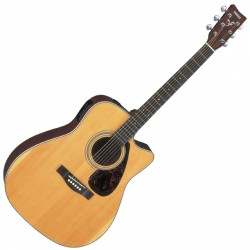 GUITARE ELECTRO-ACOUSTIQUE Yamaha FX370C NATURAL