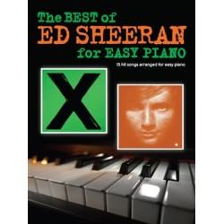 ED SHEERAN EASY PIANO