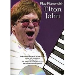 ELTON JOHN PLAY PIANO WITH