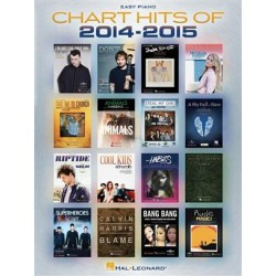 CHART HITS 2014-2015 EASY PIANO