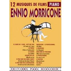 ENNIO MORRICONE 12 MUSIQUES DE FILM