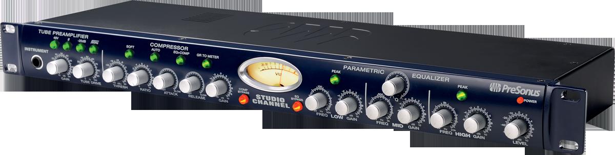 Preampli Micro A Lampe Compresseur Eq Presonus Studio Channel