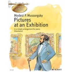 CLASSICAL MASTERPIECES MUSSORGSKY TABLEAUX EXPOSITION