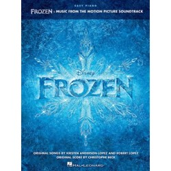 FROZEN DISNEY REINE DES NEIGES EASY PIANO