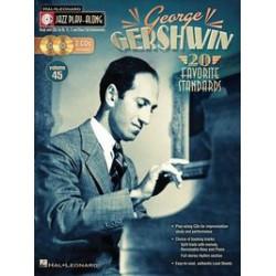 GERSHWIN 20 FAVORITES STANDARDS PIANO