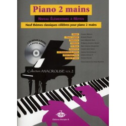 COLLECTION ANACROUSE 2 PIANO 2 MAINS