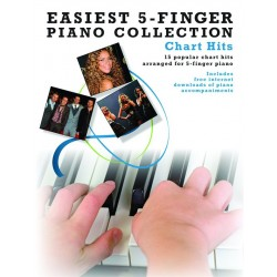 EASIEST PIANO COLLECTION CHART HITS