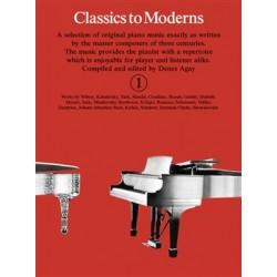 CLASSICS TO MODERN 1