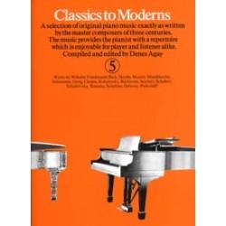 CLASSICS TO MODERN 5