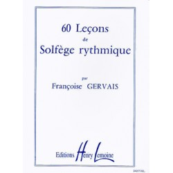 GERVAIS 60 LECONS RYTHMIQUE