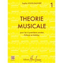 JOUVE GANVERT THEORIE MUSICALE 1
