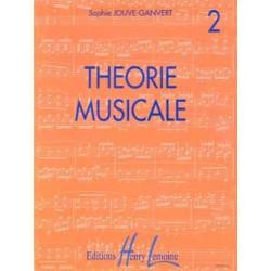 JOUVE GANVERT THEORIE MUSICALE 2