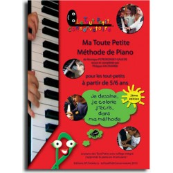 PETIT CONSERVATOIRE MA TOUTE PETITE METHODE PIANO 1
