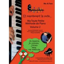 PETIT CONSERVATOIRE MA TOUTE PETITE METHODE PIANO 2