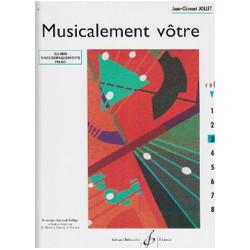 Jollet: Musicalement Votre Volume 3 Accompagnements Professeur