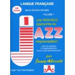 AEBERSOLD 001 IMPROVISATION (FRANCAIS) CD + 1 CD TEMPO LENT