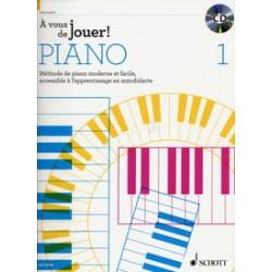 A VOUS DE JOUER ! PIANO CD