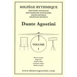 AGOSTINI Solfège Rythmique, Volume 1