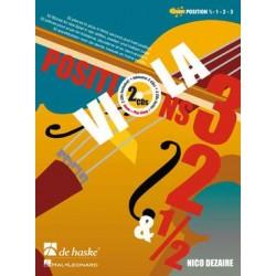 Viola Positions 3-2-1/2