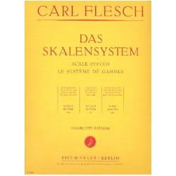 Carl Flesch Le Système des Gammes - Alto